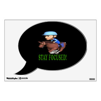 Stay Focused Wall Decal
