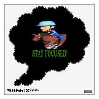 Stay Focused Wall Sticker