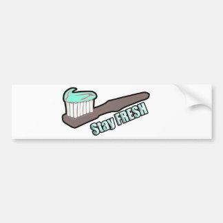 Stay Fresh Bumper Sticker