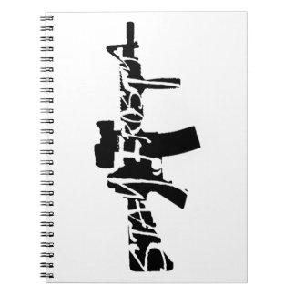 Stay Frosty Spiral Notebook