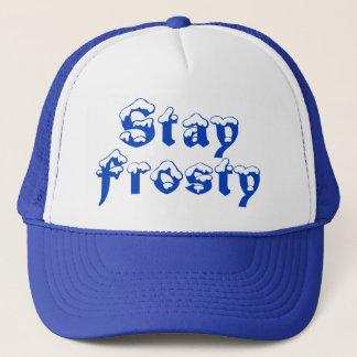 """""""Stay Frosty"""" Summer Trucker Hat"""