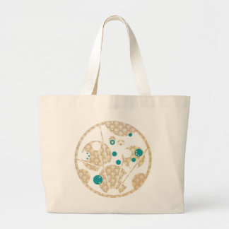 Stay Gold, Be the Wand Large Tote Bag