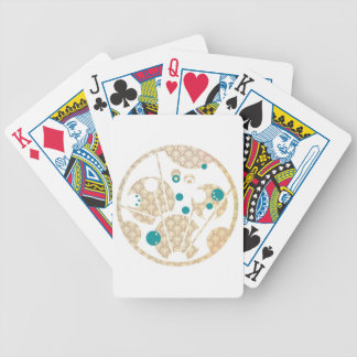 Stay Gold Be the Wand Bicycle Poker Cards