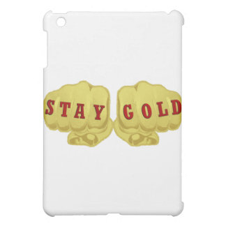 Stay Gold Cover For The iPad Mini