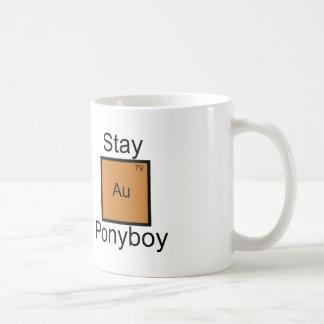 Stay Gold Ponyboy Element Pun Coffee Mug