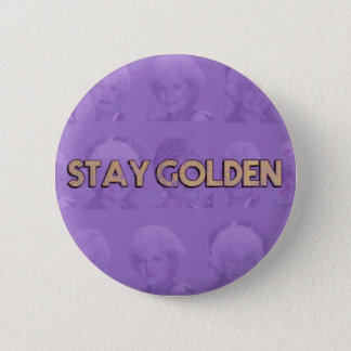 Stay Golden Button
