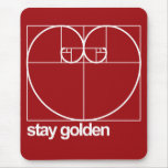 Stay Golden Mouse Pad