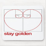Stay Golden Mousepads