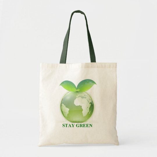 Stay Green Tote Bag