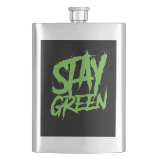 Stay green wall paint flask
