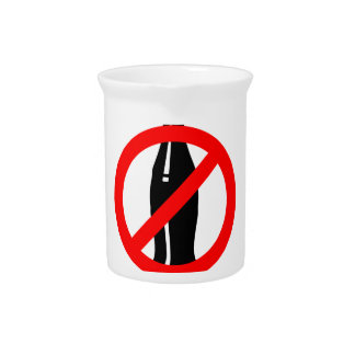 Stay Healthy No Black Soda Pitcher