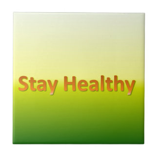 stay healthy tile