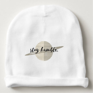 Stay Humble Planet Baby Beanie