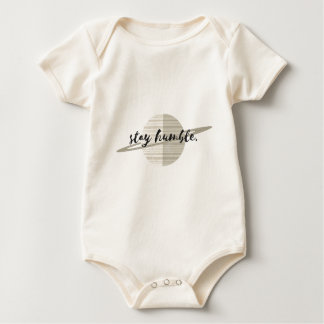 Stay Humble Planet Baby Bodysuit