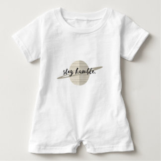 Stay Humble Planet Baby Romper