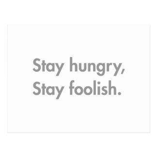 stay-hungry-stay-foolish-fut-gray.png postcard