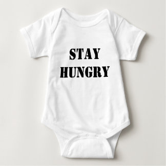Stay Hungry: Style: Infant Creeper