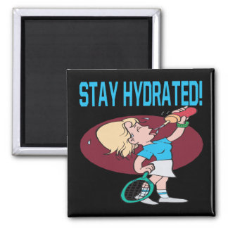 Stay Hydrated 2 Inch Square Magnet