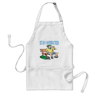 Stay Hydrated Adult Apron