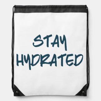 Stay Hydrated Drawstring Bag
