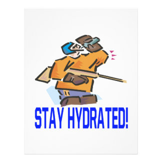 Stay Hydrated Flyer