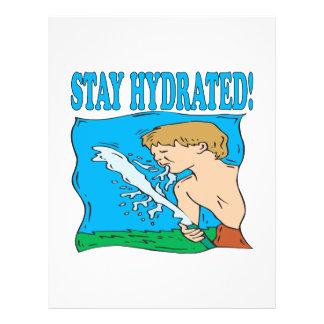 Stay Hydrated Custom Flyer