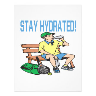 Stay Hydrated Personalized Flyer