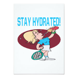 Stay Hydrated 5x7 Paper Invitation Card