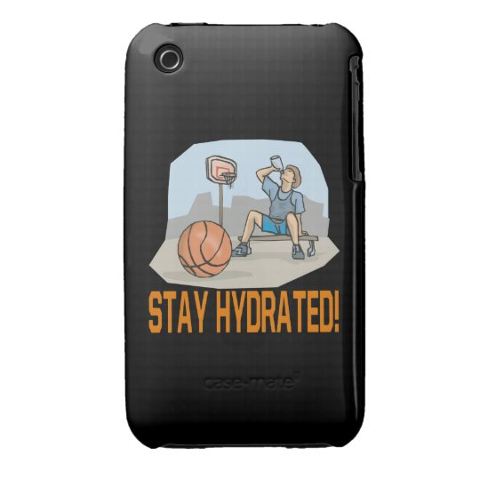 Stay Hydrated iPhone 3 Cover