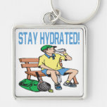 Stay Hydrated Key Chains