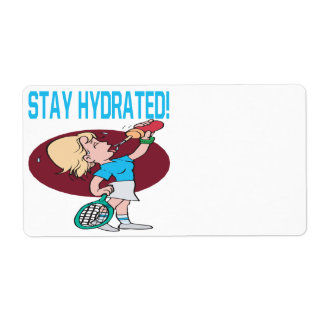 Stay Hydrated Label