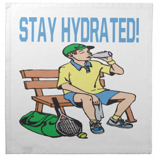 Stay Hydrated Napkins