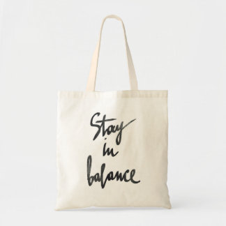 stay in balance bag