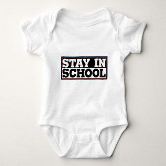 Stay In School Baby Bodysuit