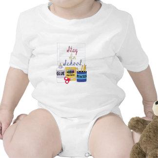 Stay In School Baby Bodysuits