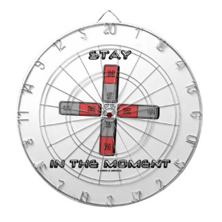 Stay In The Moment (Magnetic Quadrupole Moment) Dart Board