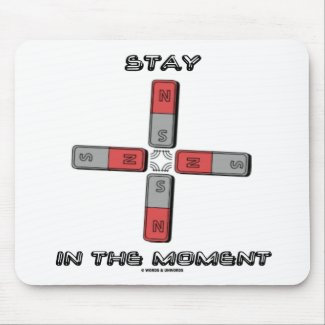Stay In The Moment (Magnetic Quadrupole Moment) Mouse Pad