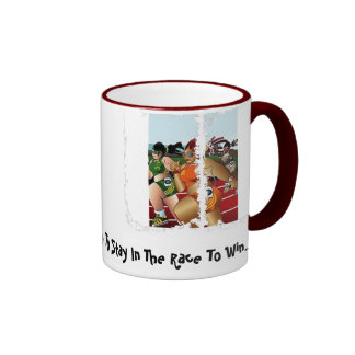 Stay In The Race Mug
