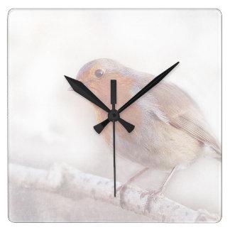 Stay, little cheerful Robin! Clocks
