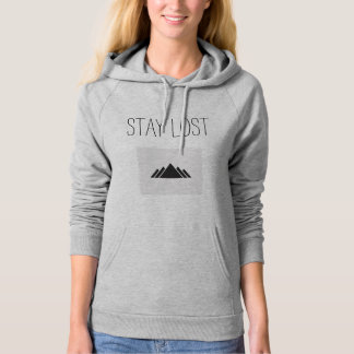 Stay Lost Mountains Hoodie