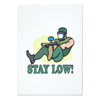 Stay Low Card