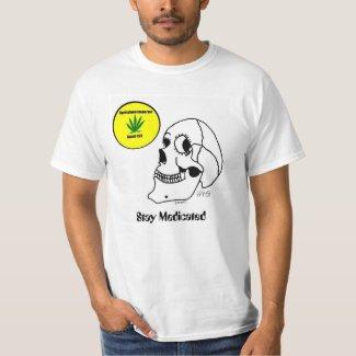 Stay Medicated Skull T-Shirt