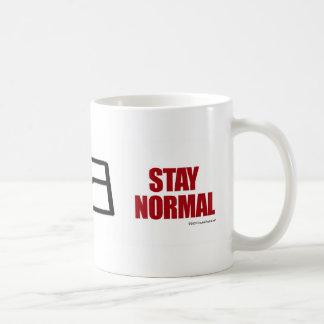 Stay Normal - mug