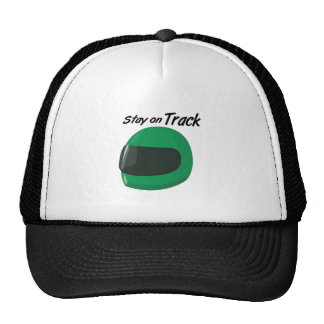 Stay On Track Trucker Hat