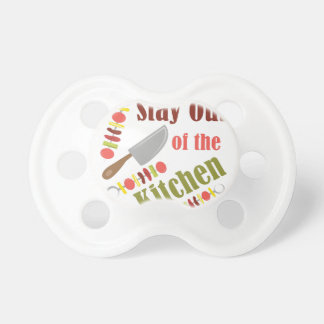 Stay Out BooginHead Pacifier