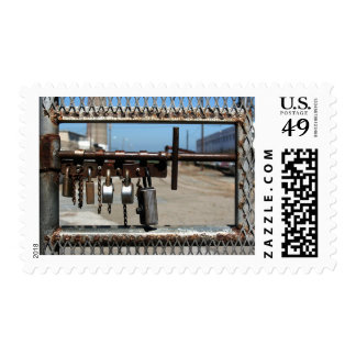 Stay Out Postage Stamps