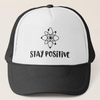 Stay Positive Funny Scientific Positivity Trucker Hat
