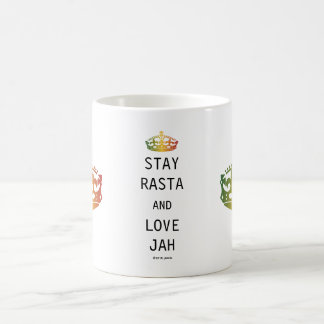 Stay Rasta and Love Jah Coffee Mug