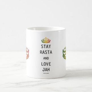 Stay Rasta and Love Jah Coffee Mug