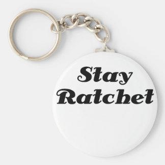 Stay Ratchet Keychains